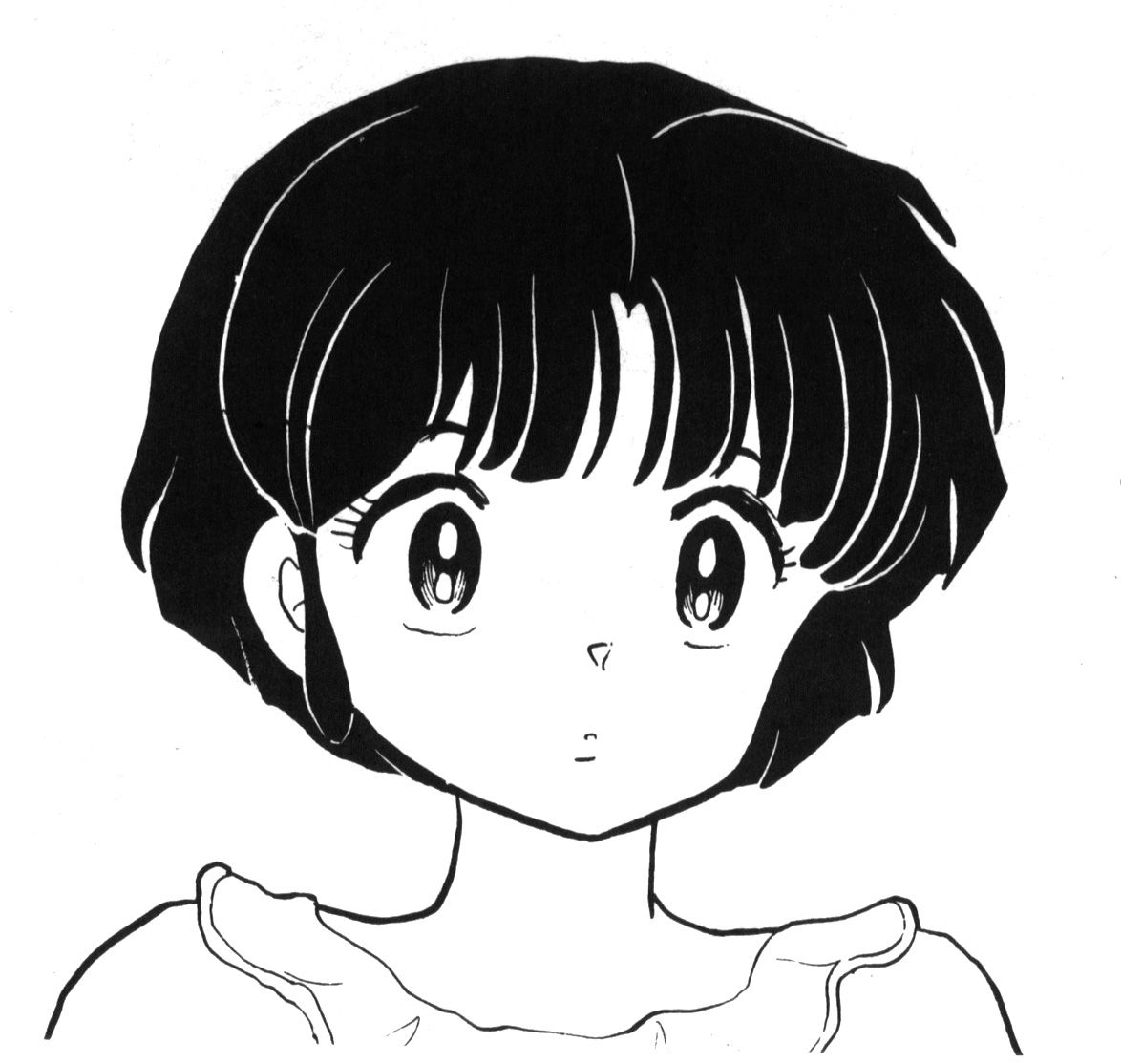 ranma 1 2 coloring pages | Akane Tendo, Ranma 1/2 | Ranma 1/2 | Manga anime, Akane ...