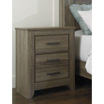 Zelen 4pc Panel Bedroom Set In Warm Gray Casual Bedroom Furniture Vintage Bedroom Furniture Contemporary Bedroom Furniture