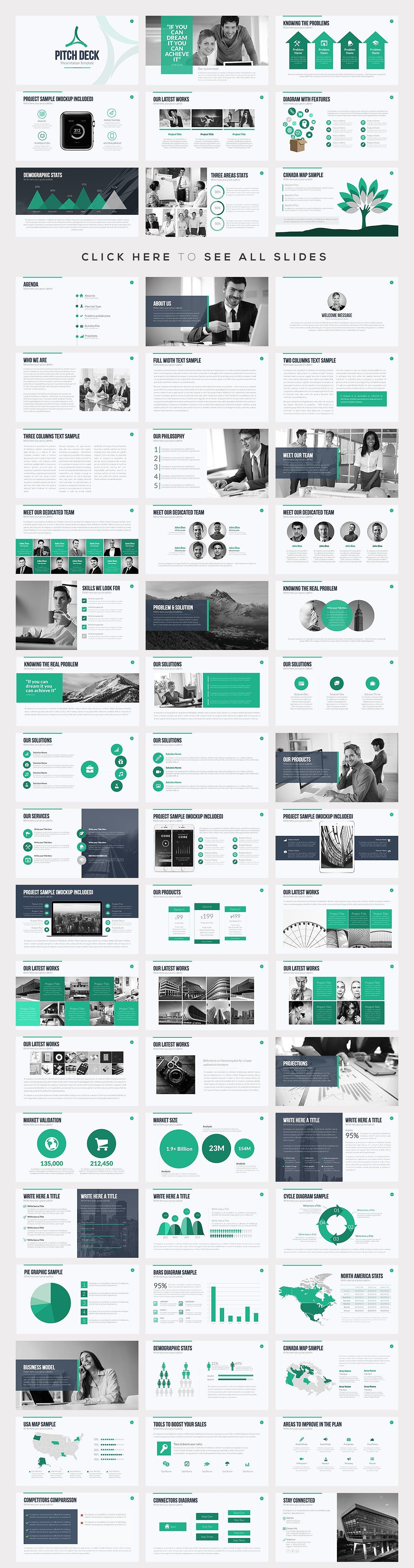 best powerpoint templates bundle pinterest template