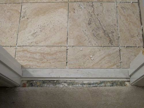 threshold options between tile and