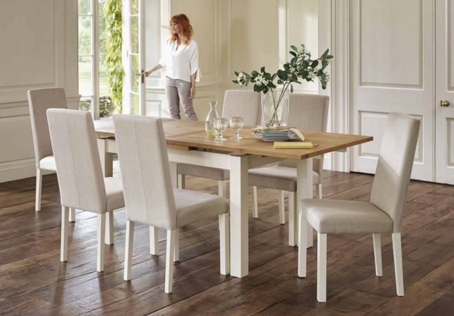 db13b058a946c Table and 4 chairs - Compton - Gorgeous Dining Room Furniture Only from  Furniture Village