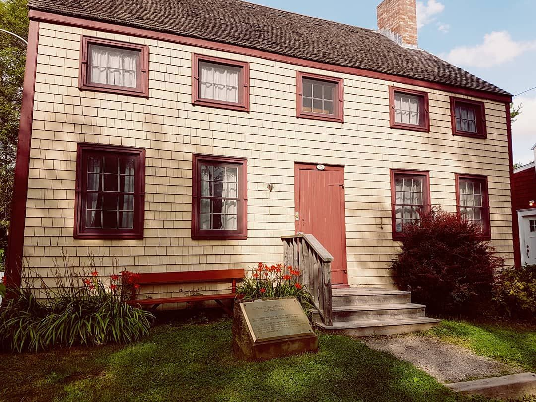 Cossit House Built In 1787 In Sydney Nova Scotia By