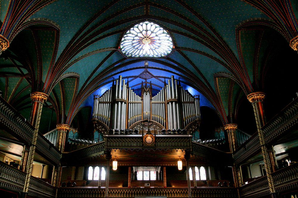 Basilika Notre Dame-Orgel/ Montreal by magic-colors