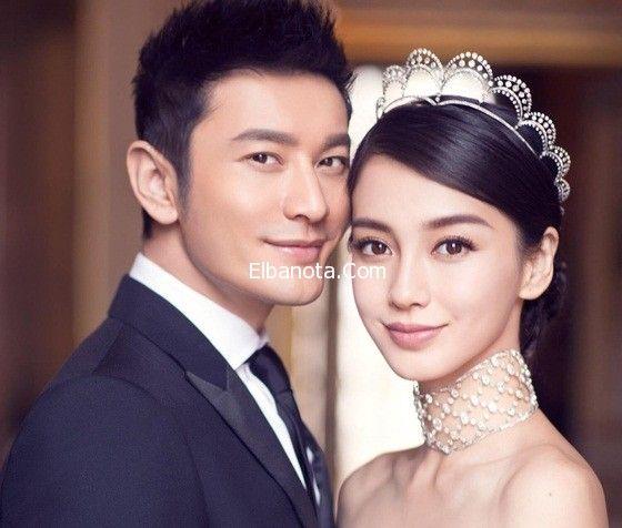 بالصور حفل زفاف كيم كارداشيان الصينية بلغت تكلفته 20 مليون دولار Angelababy Wedding Crystal Bridal Tiaras Wedding Preparation