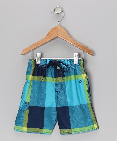 Take a look at this Aqua X-Pro Swim Trunks - Infant, Toddler & Boys on zulily today!