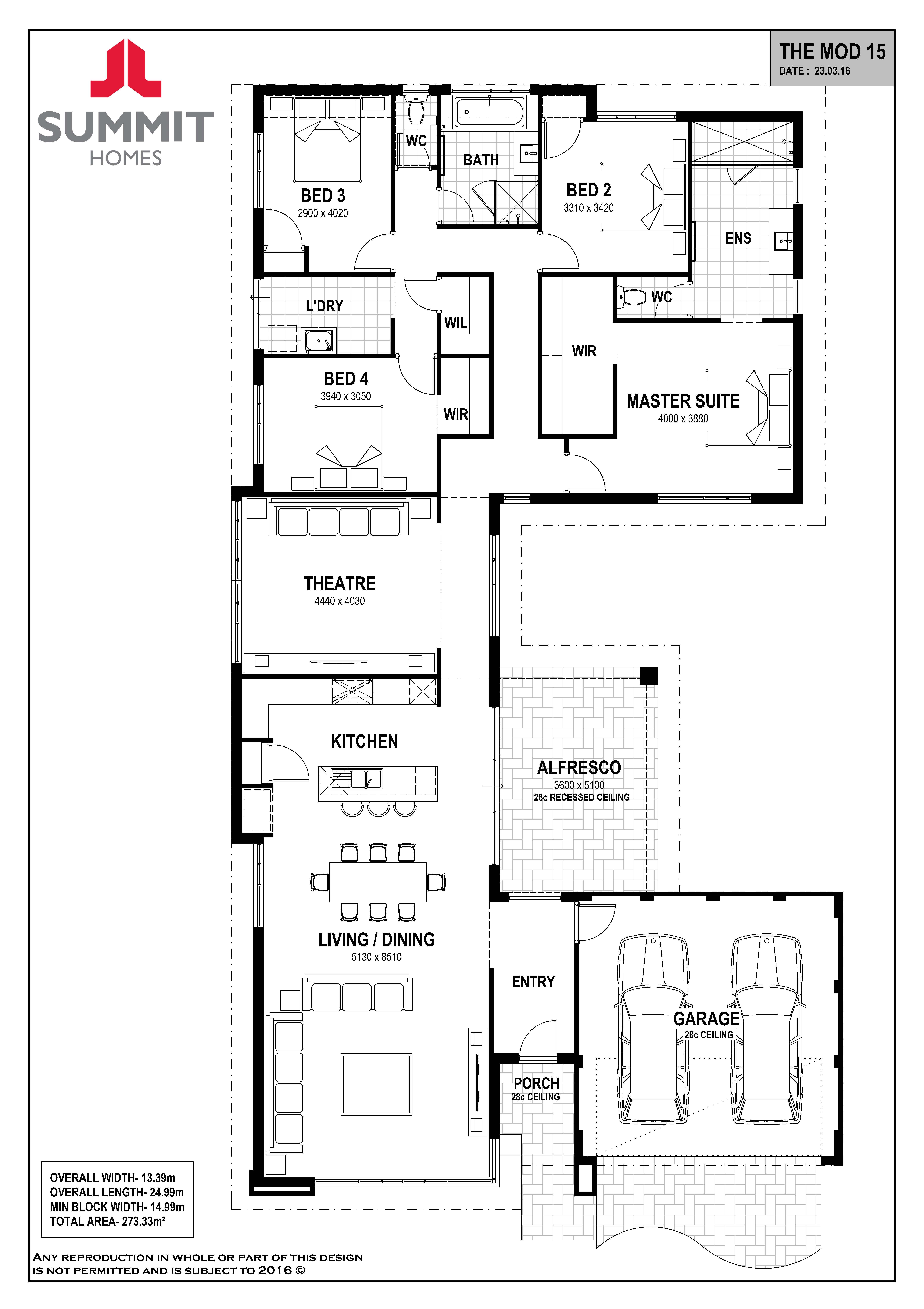 Mod 15 Floorplan