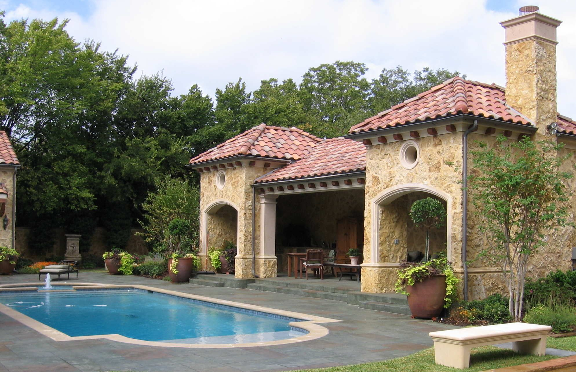 Southern Outdoor Living Plans | ... retreat from the world ... on Southern Pools And Outdoor Living id=73995