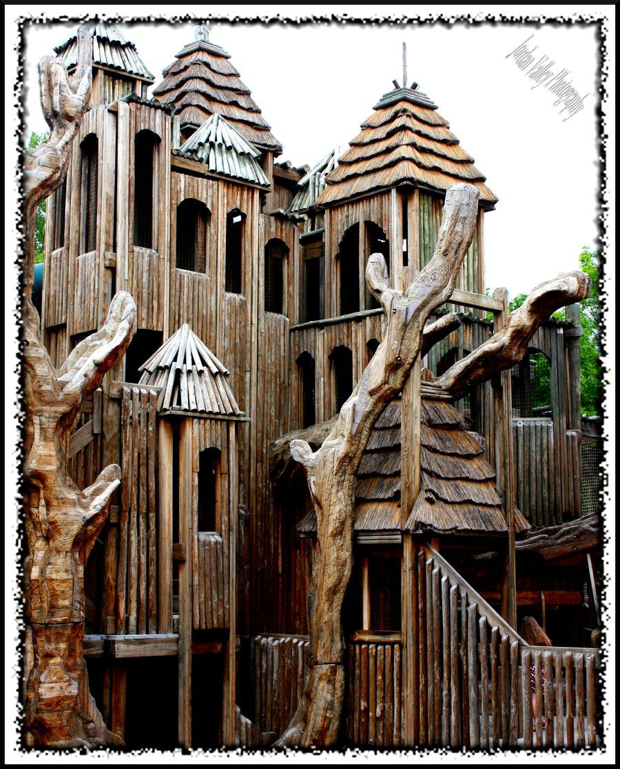 Tree house at the Nashville Zoo