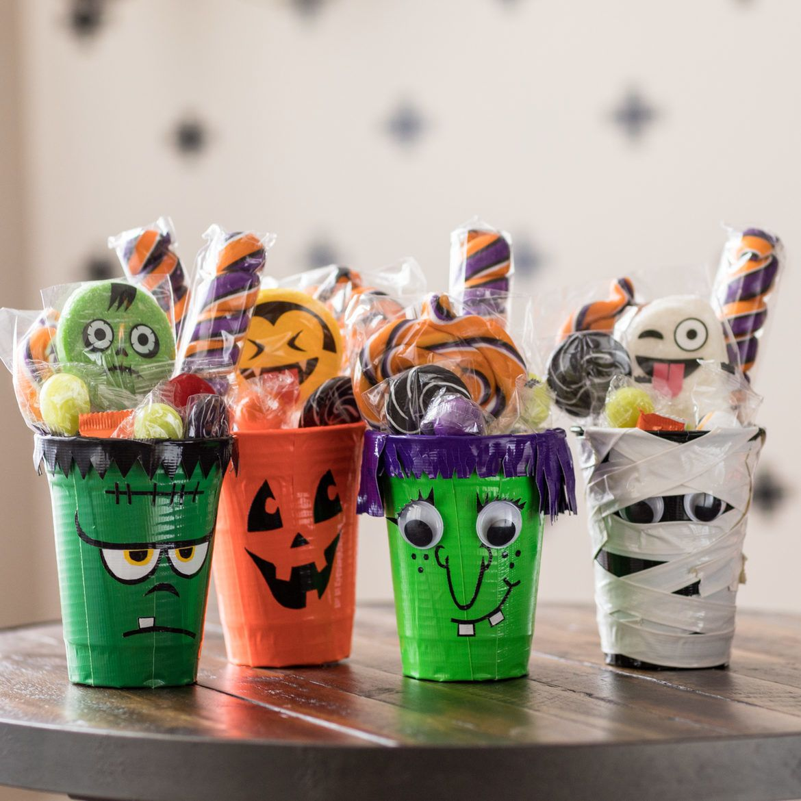 Halloween Cup Craft Supplies & Tools How To Duck Tape