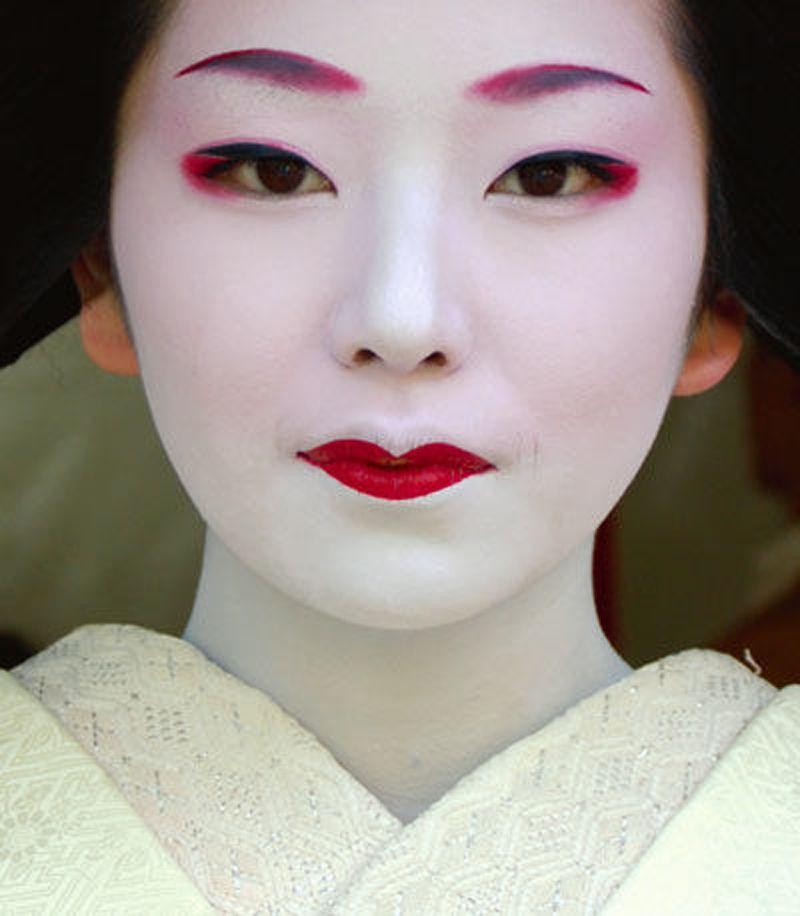 comment se maquiller en geisha