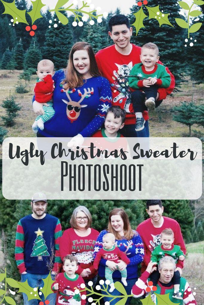 Ugly Christmas Sweater Photoshoot | CHRISTMAS KIDS | Pinterest ...