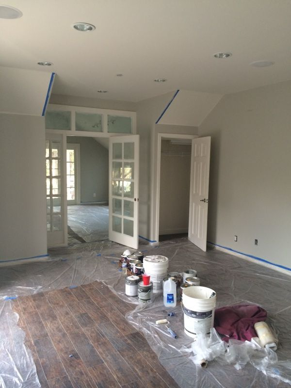 Wall Color Dunn Edwards Muslin And Trim White