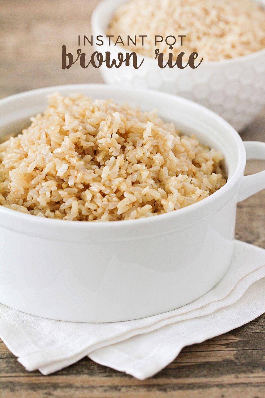 Instant Pot Brown Rice | Instant pot, Brown rice and Rice