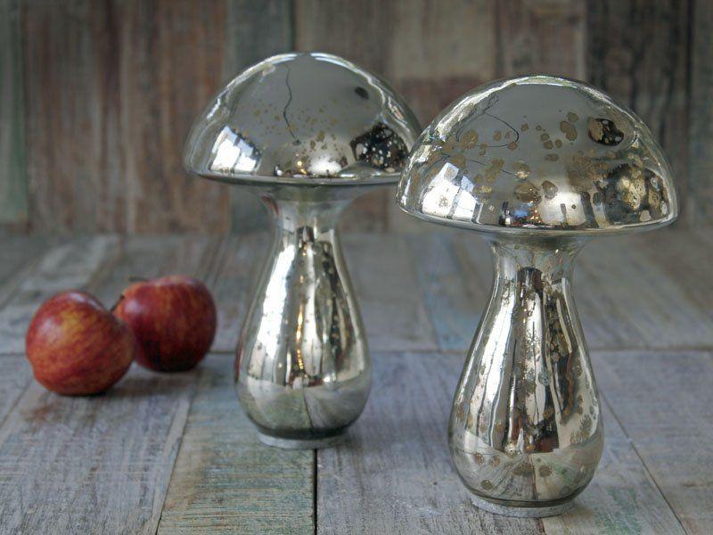 Giant Mirror Mushrooms Set