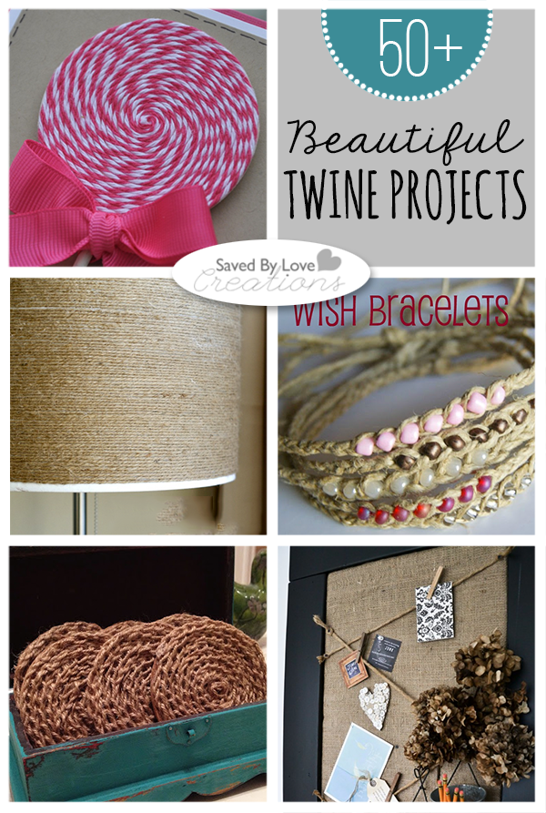 Over 50 Things To Make With Twine Bakerstwine Twinecrafts