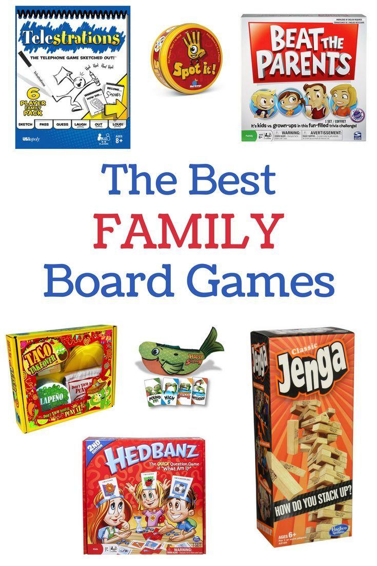 Best Family Board Games Best family board games, Family