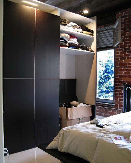 DIY Loft Room Divider and Wardrobe Loft room Divider and Lofts