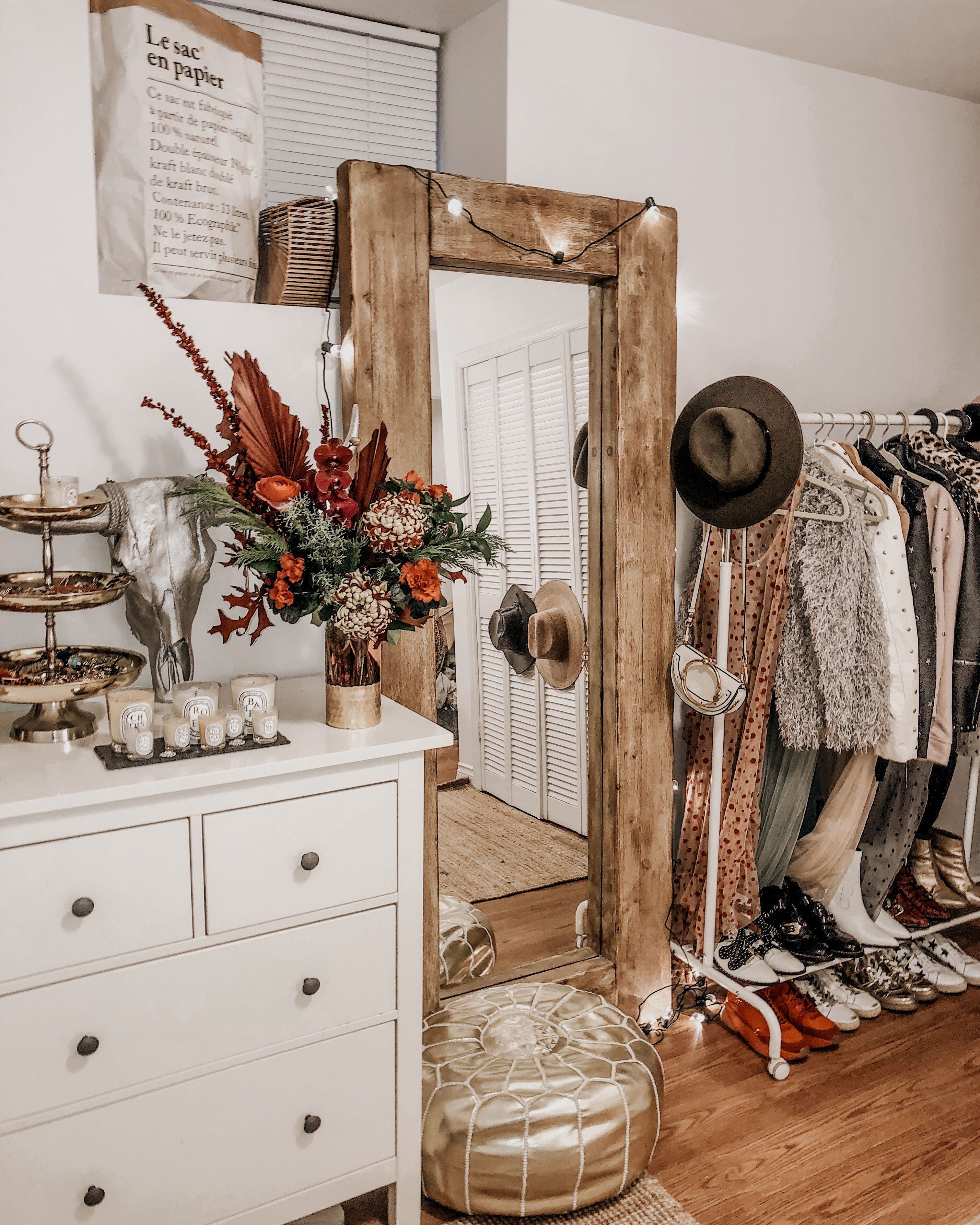 Inspiring Rustic Bedroom Ideas To Decorate With Style: WESTERN VINTAGE BOHO RUSTIC HOME DECOR AND CLOSET In 2019