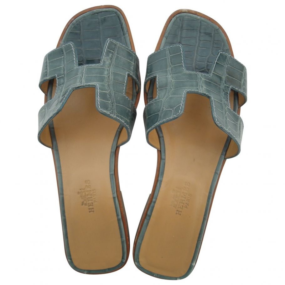 Hermes sandals dance shoes - Croc Oran Sandals Hermes