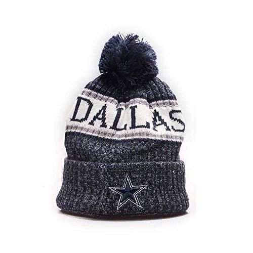 7d0241848d9989 Dallas Cowboys Cuffed Knit Hat Pom Toque Cap Pom Cap for Fans –  Videos.Images.Pictures