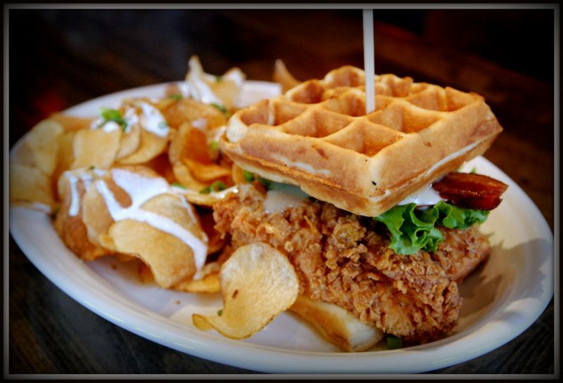 Datz Tampa Food Restaurants Bars Waffles Food Chicken N Waffles