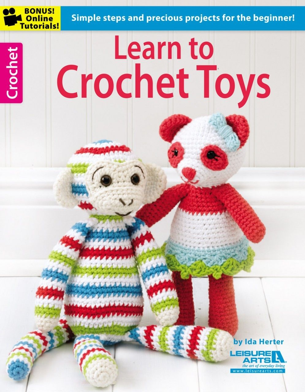 Learn to Crochet Toys | Crocheted toys, Amigurumi and Crochet