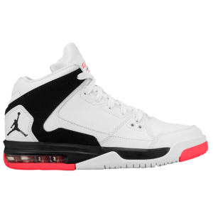 Jordan Flight Origin - Boys' Grade School - White/Black/Infrared 23