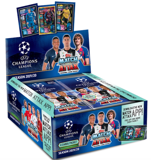 2019 20 Topps Uefa Champions League Match Attax Checklist Info Box Match Attax Champions League Uefa Champions League