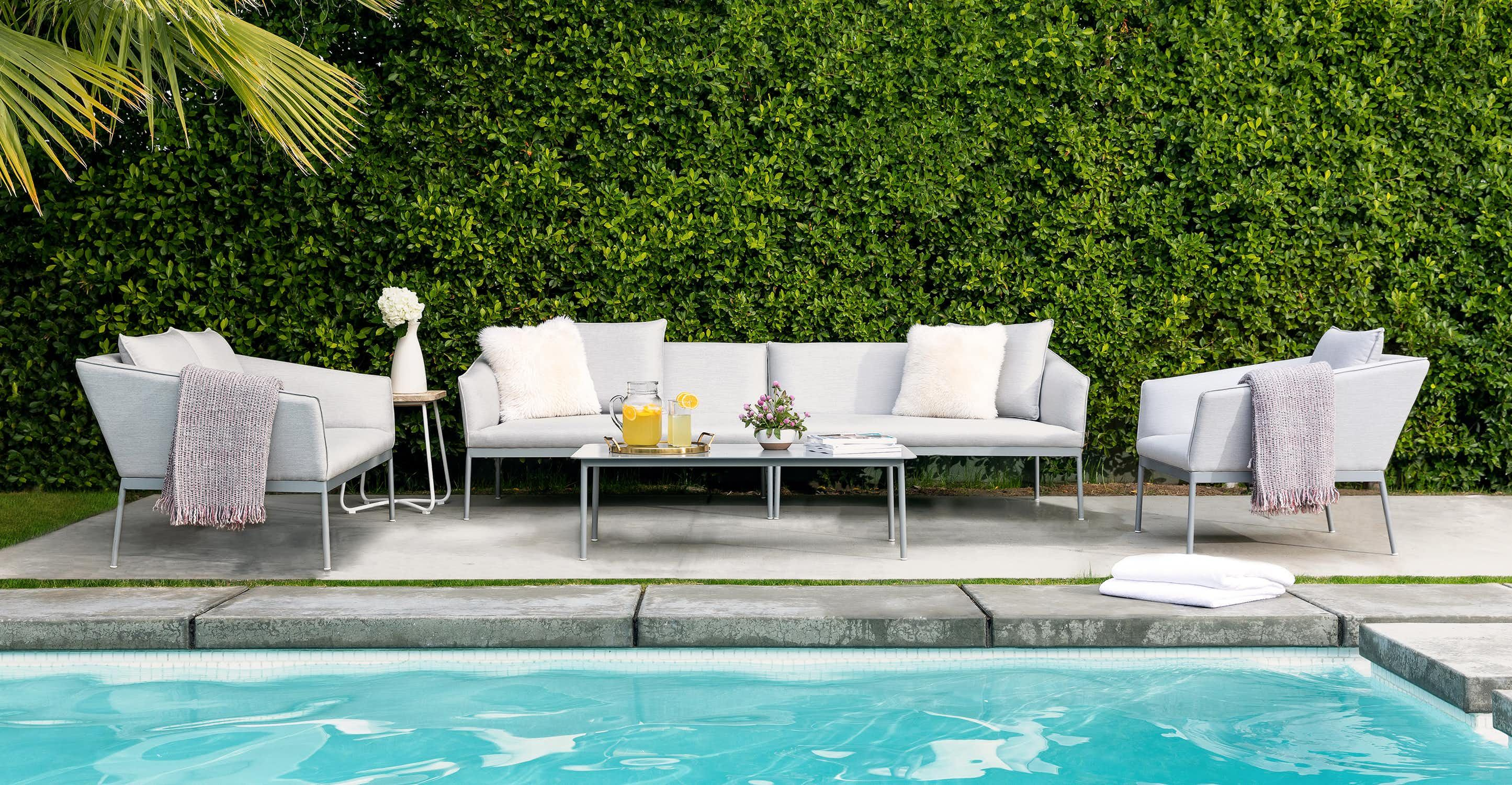 Palo Paloma Gray Sectional Article Modern Outdoor Lounge Chair Modern Outdoor Sofas Lounge Chair Outdoor