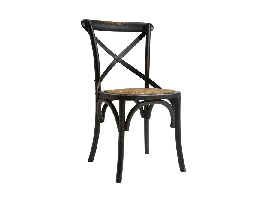 Cadence Dining Chair With Wooden Stretchers Arhaus Furniture Side Chairs Dining Dining Chairs Dining Room Furniture