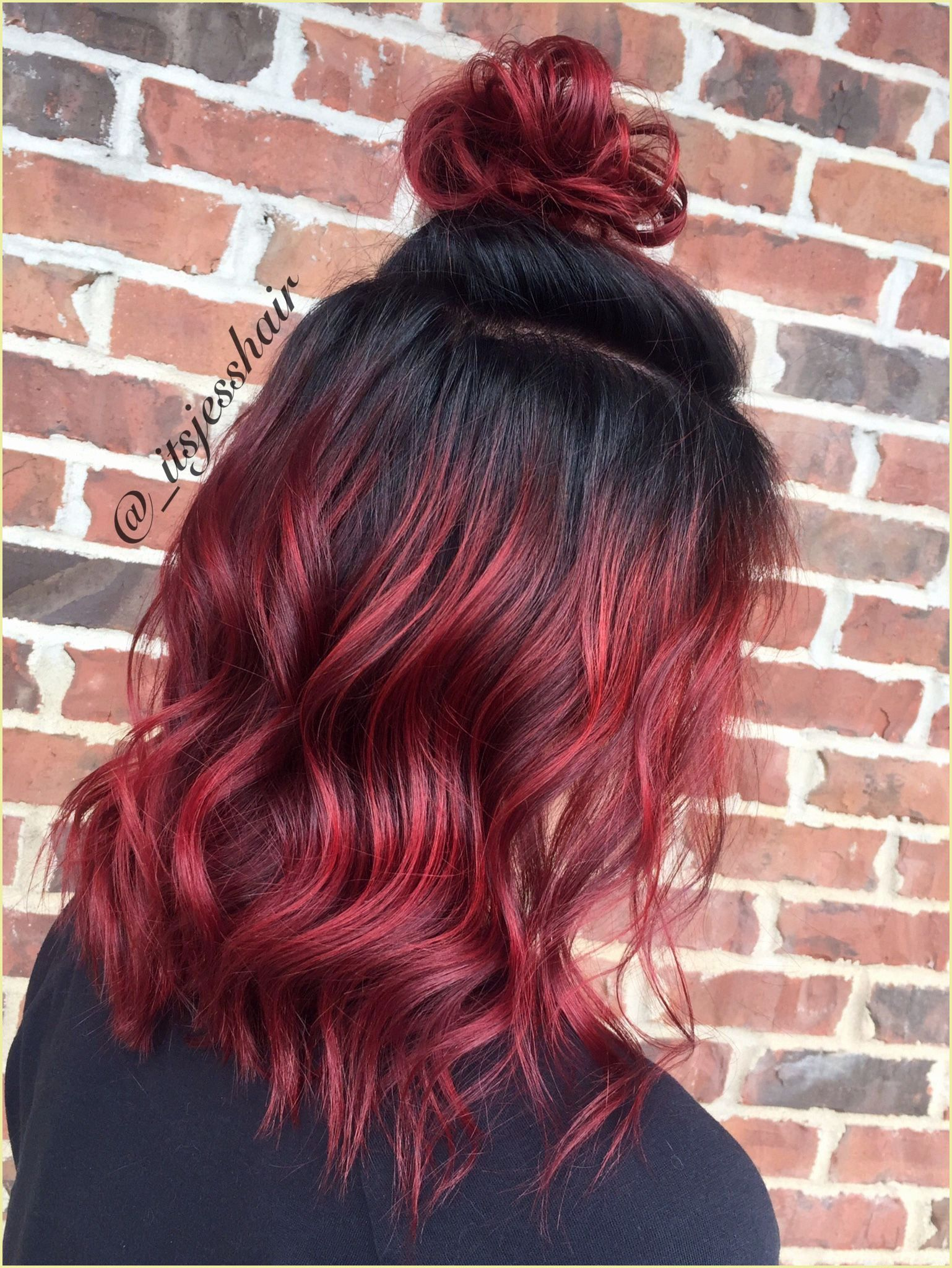 Interesting As Regards Mahogany Red Hair Color Red Ombre Hair Brown Ombre Hair Hair Styles