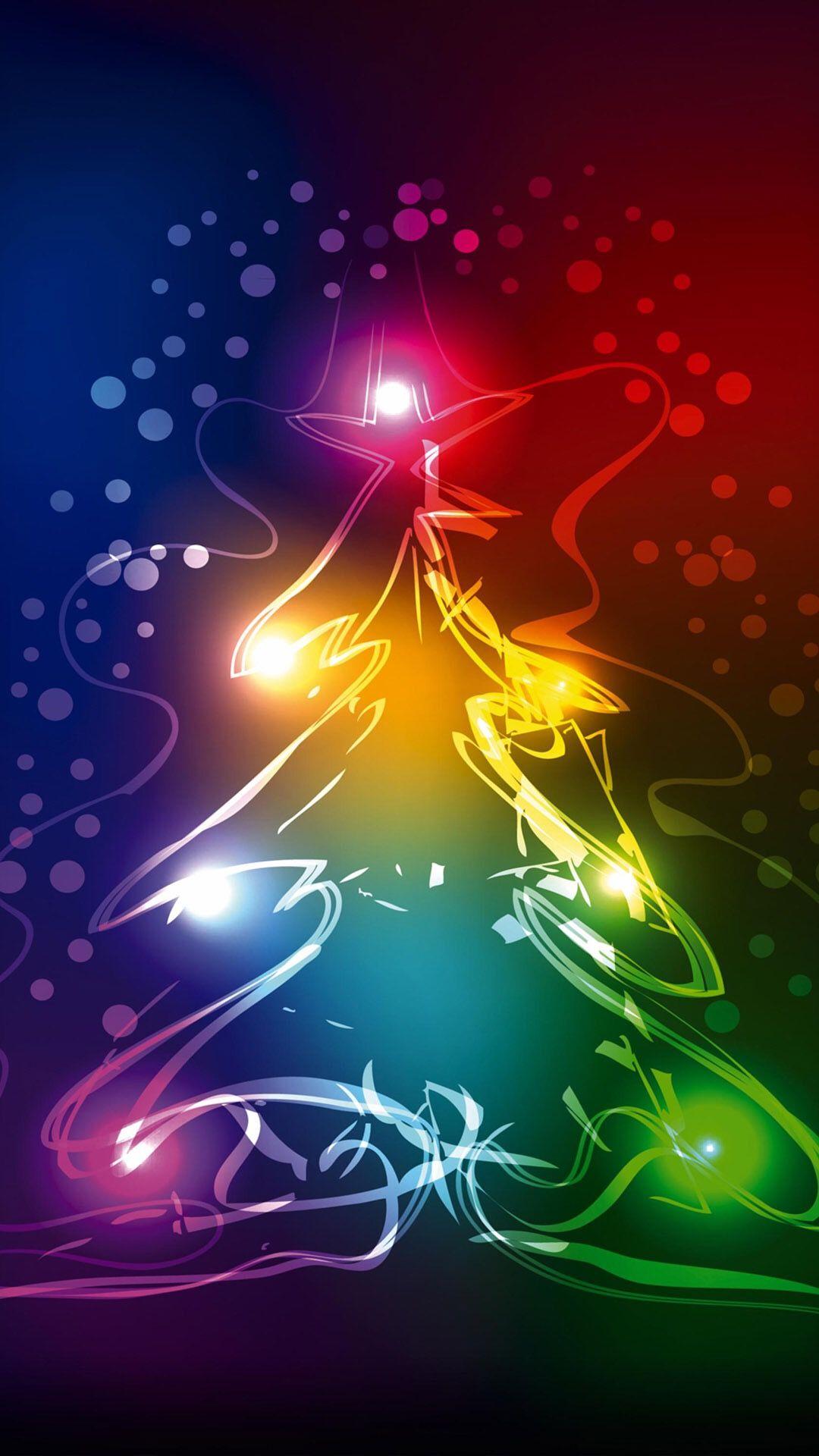 Pin On Rainbow Christmas Tree