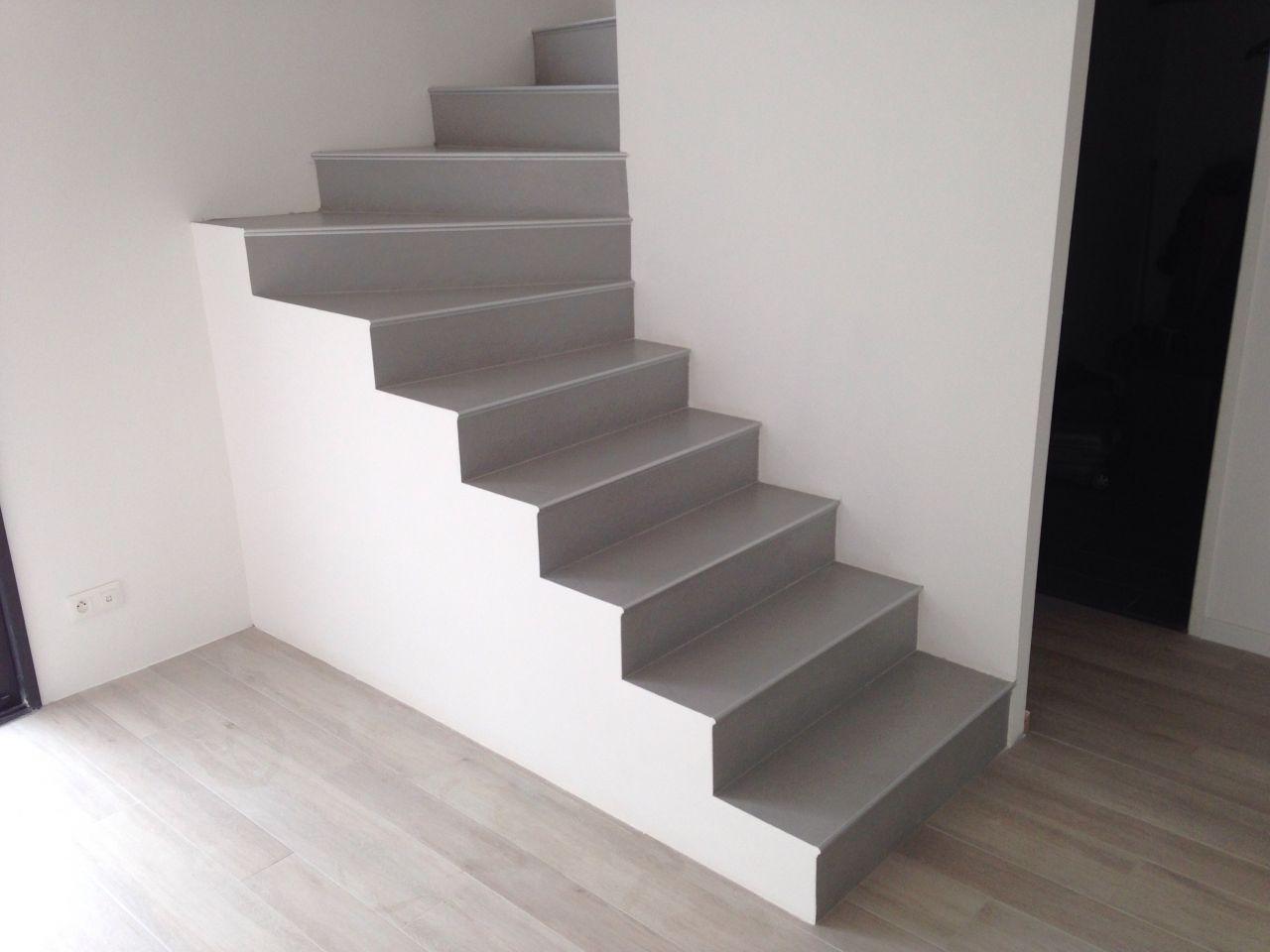 Escalier Termine Contemporaine Dans L Ouest Toulousain Par