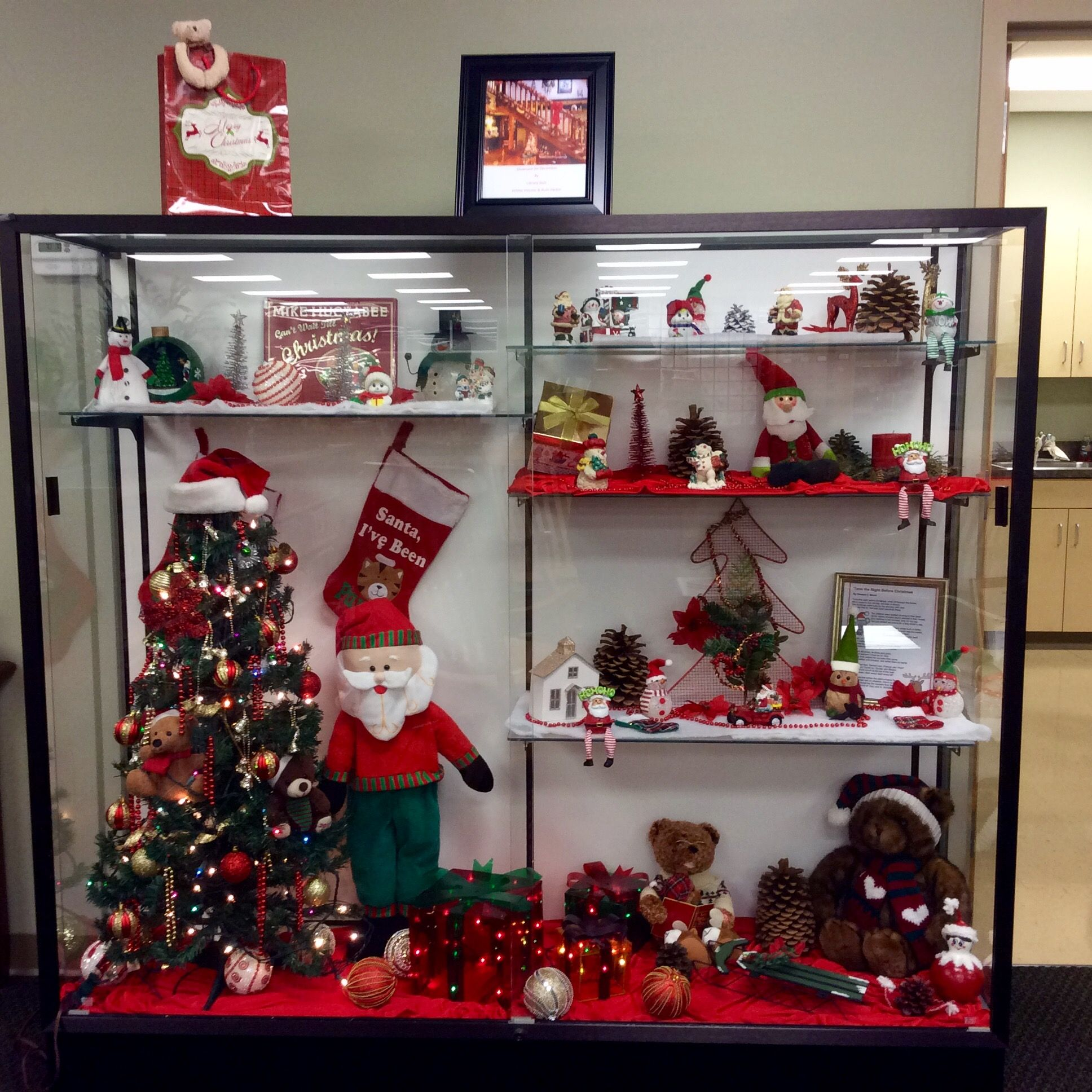 Christmas ornament display case - Explore Display Case Art And More