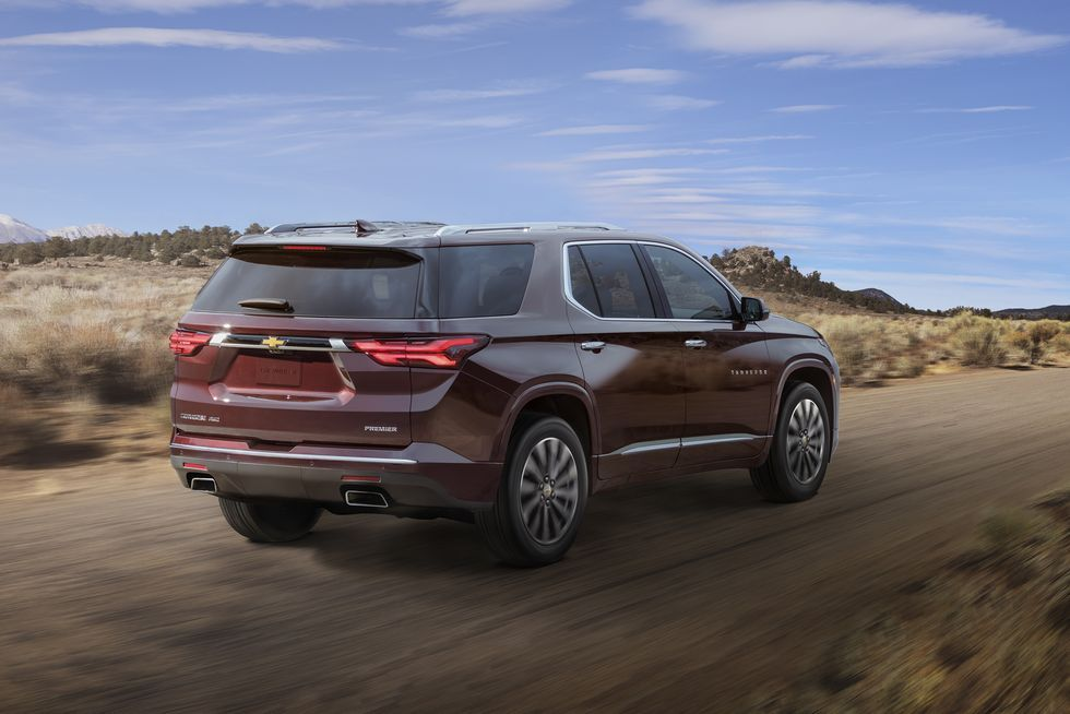 Chevrolet Traverse 2021 в 2020 г