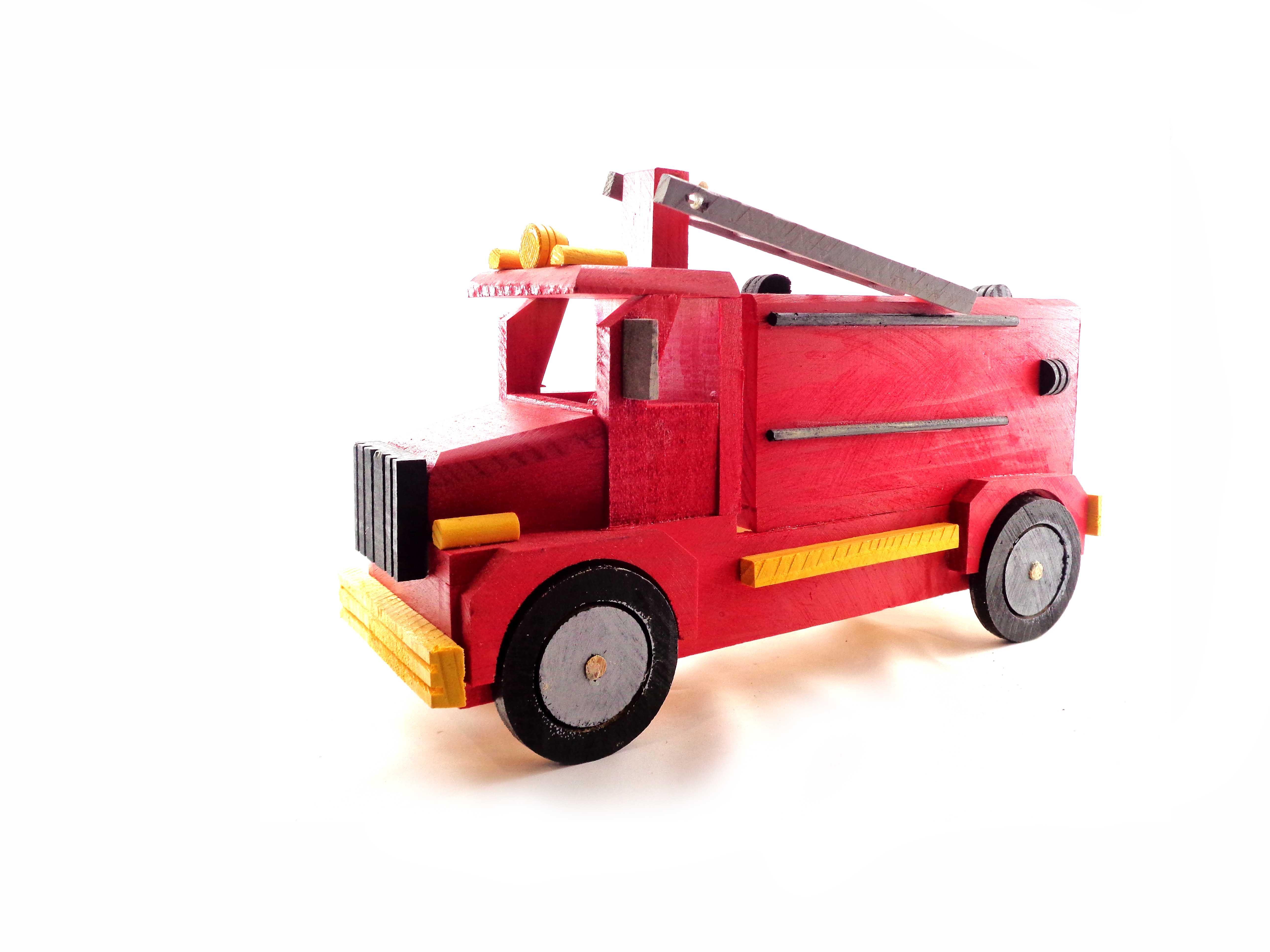 Camión Bombero Juguetes Bomberos