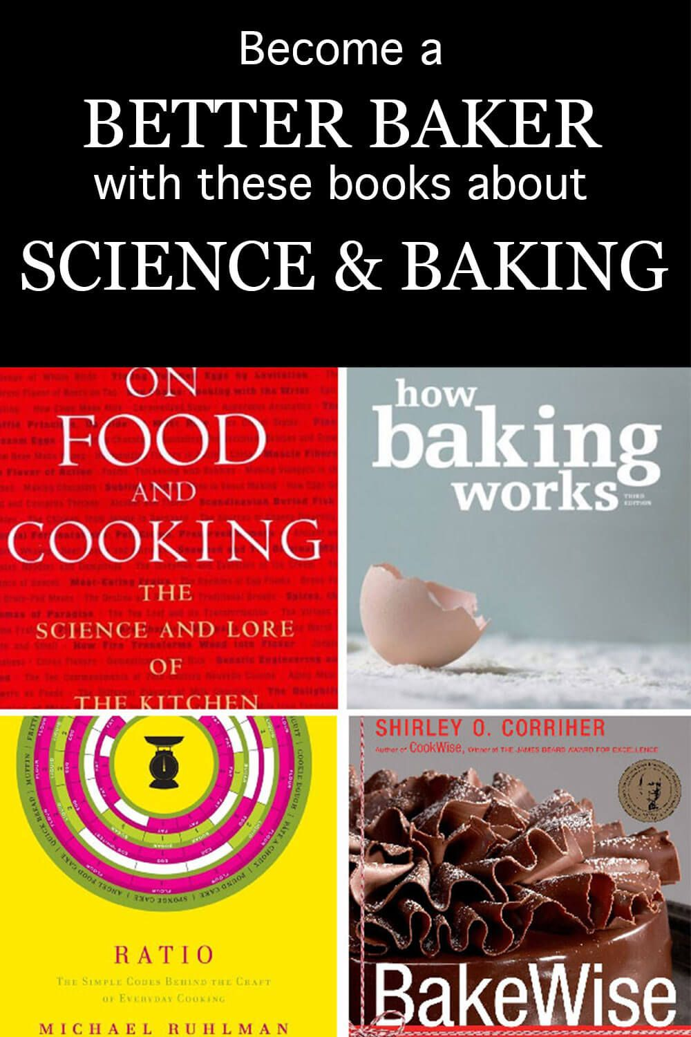 Best Books About Food Science And Baking Science Baking Science Food Science Drink Recipe Book