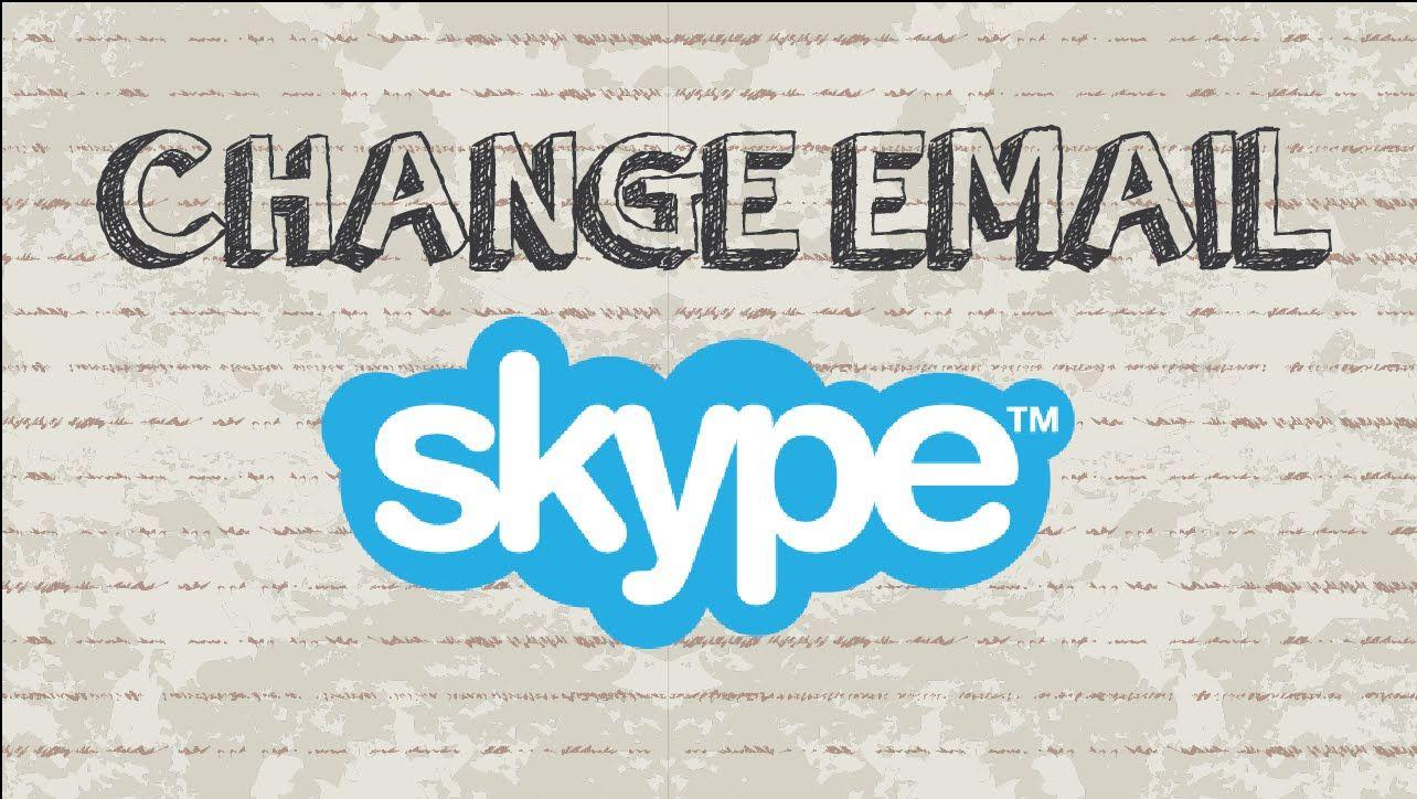 How to change Skype email address Mobile App skype app