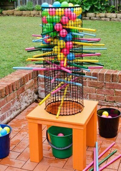Jenga De Pelotas Outdoorsy Stuff Juegos Para Jardin Juegos