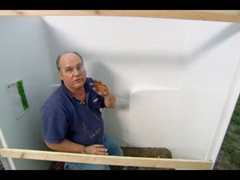 ▷ How To Install A Fiberglass Tub And Surround  This Old House Unique Youtube Bathroom Remodel Decorating Design