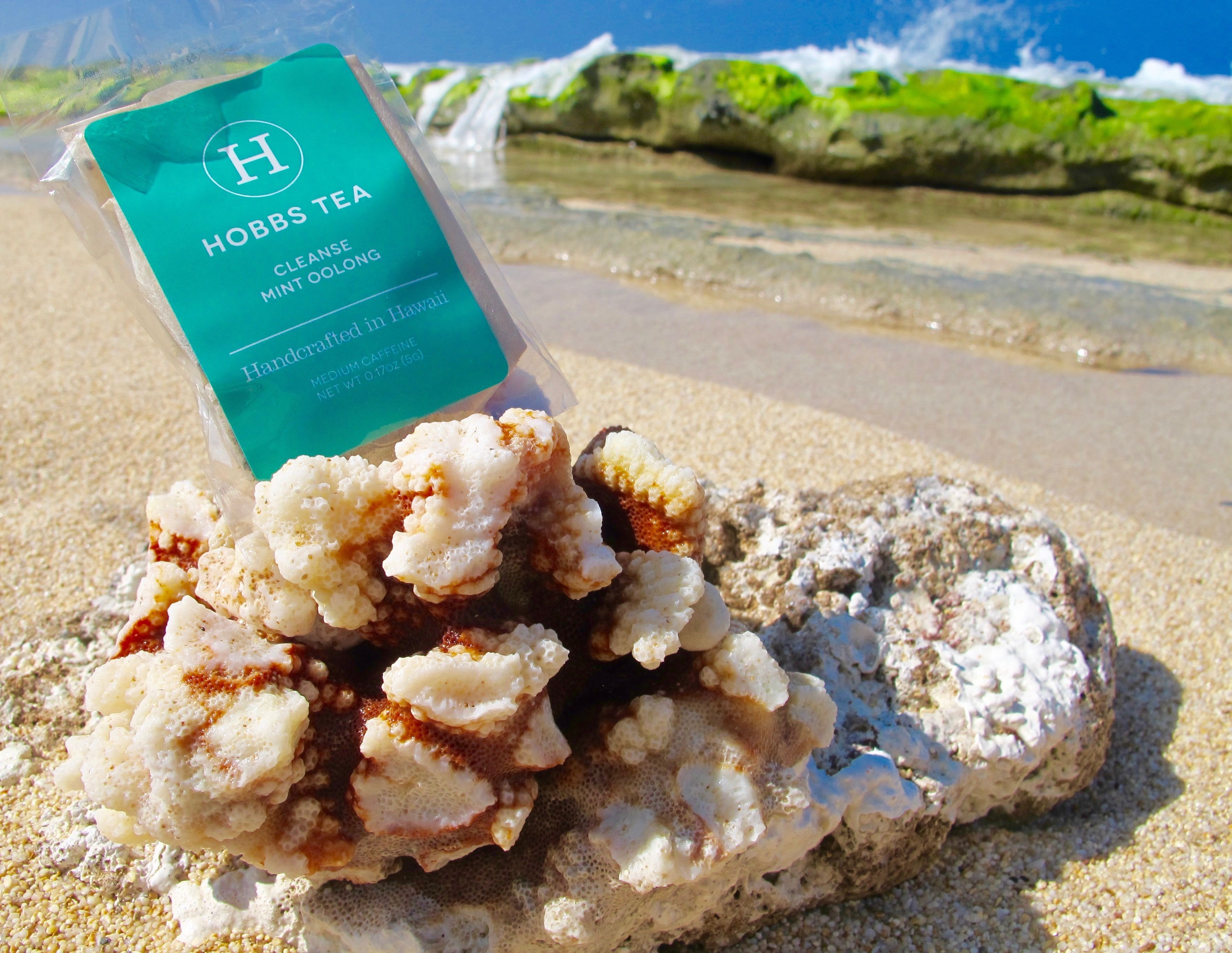 Coral fresh! #organic #health #cleanse #mint #oolong #hawaii #tea