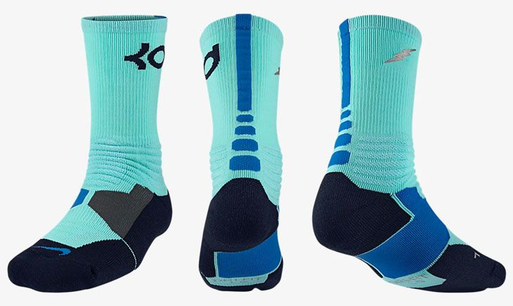 new products 4b5a5 5c4aa Nike KD Hyper Elite Socks to Wear with the Nike KD 7 Uprising .