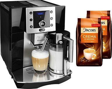 de longhi kaffeevollautomat perfecta esam 5550 jetzt im sale delonghi kaffeevollautomat. Black Bedroom Furniture Sets. Home Design Ideas