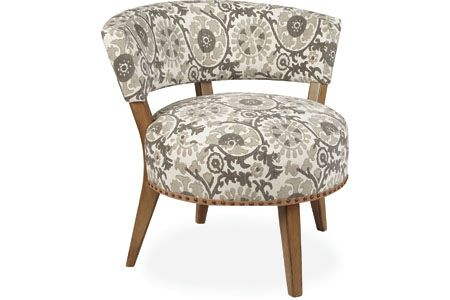 With different upholstery (also seen in plum) for the corner in the master bedroom.  Lee Industries 1213-01 Chair
