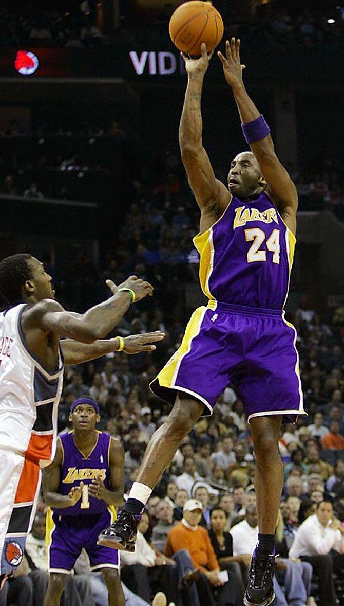 Kobe Bryant Scores 58 Points in the Nike Zoom Kobe 1