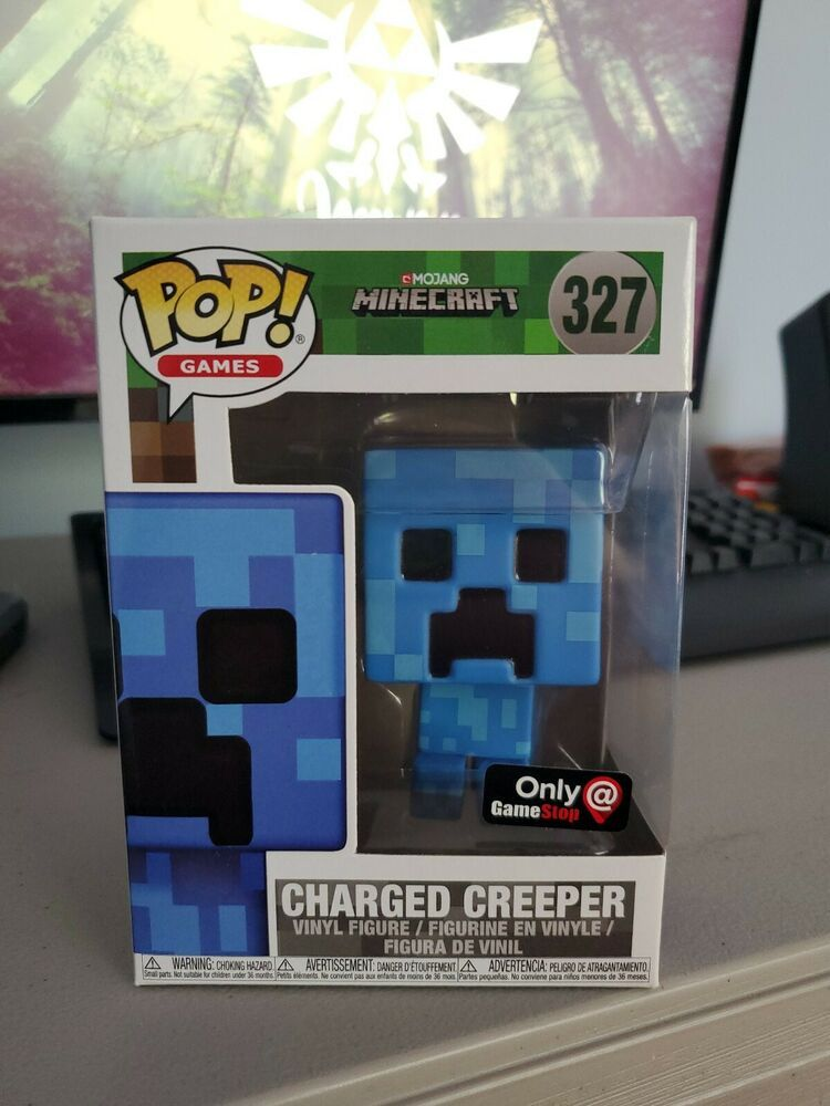 Funko Pop Minecraft Charged Creeper Vinyl Figure