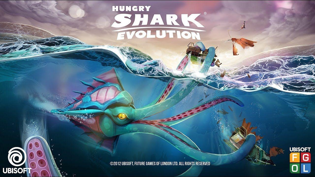 Pin on hungry shark evo
