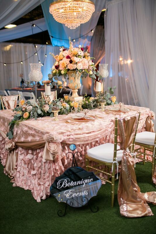 Linens Provided By: Waterford Event Rentals Design By: Botanique Events  Photography By: Amanda Hedgepeth | Crystal Clear Vision 2016 | Pinterest