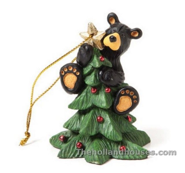 black bear christmas decorations