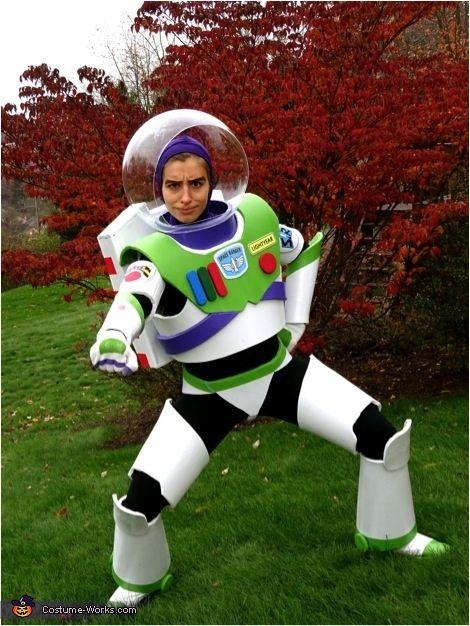 Mrs Buzz Lightyear Halloween Costume Contest At Costume Works Com Buzz Lightyear Halloween Costume Buzz Lightyear Costume Toy Story Costumes